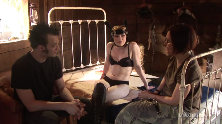 Madison Young, Nathan Menace, and Tristan Taormino in Rough Sex 2